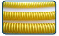 tubo pvc amarillo boton
